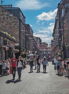 New Town di Edimburgo