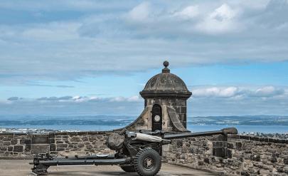 One o'clock gun - Castello di Edimburgo