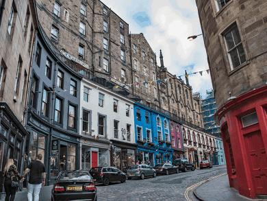 Cosa vedere a Edimburgo ? Victoria Street
