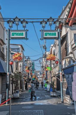 Il quartiere tranquillo di Asakusa