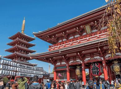 Kannon-do e Pagoda a 5 piani
