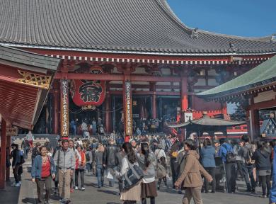 Sensō-ji - Cosa vedere a Tokyo