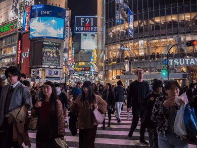 Cosa vedere a Tokyo ? Shibuya Corssing