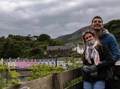 Poppackers sull'Isola di Skye