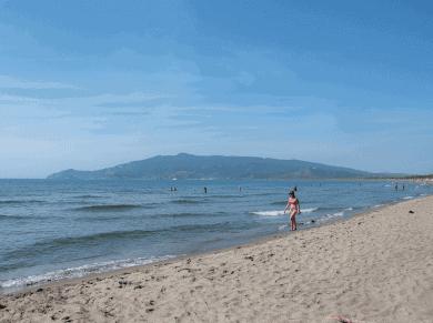 Spiagge della Maremma toscana- Duna d Feniglia