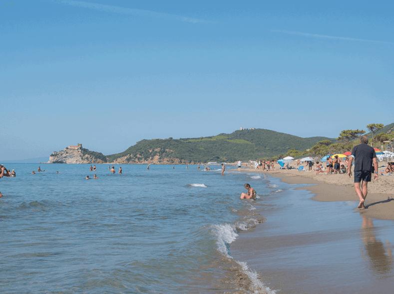 Spiagge della Maremma toscana - Le Rocchette