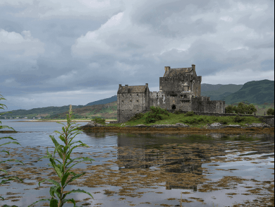 Eilean Donan Castle, spettacolre