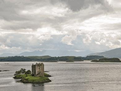 Tour in Scozia - Castle Stalker