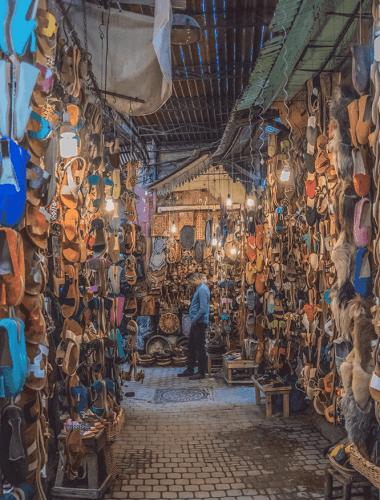 Marrakech in due giorni - il souk