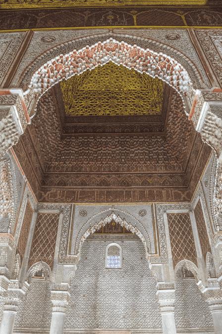 Tombe Saadiane Marrakech Marocco
