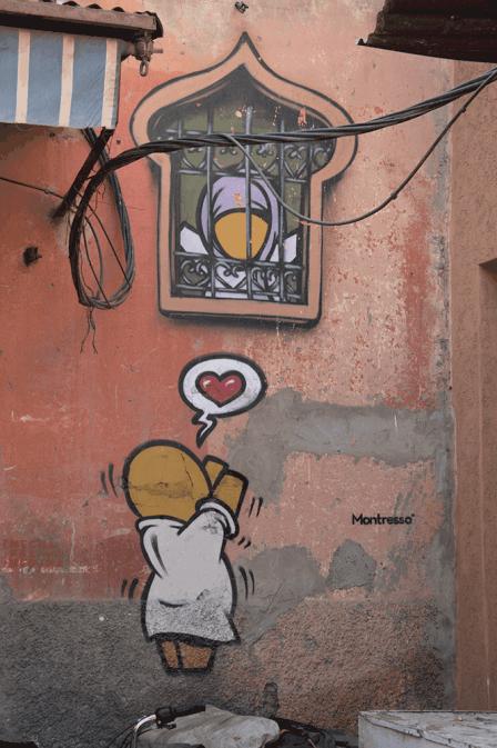Street Art Marrakech Marocco