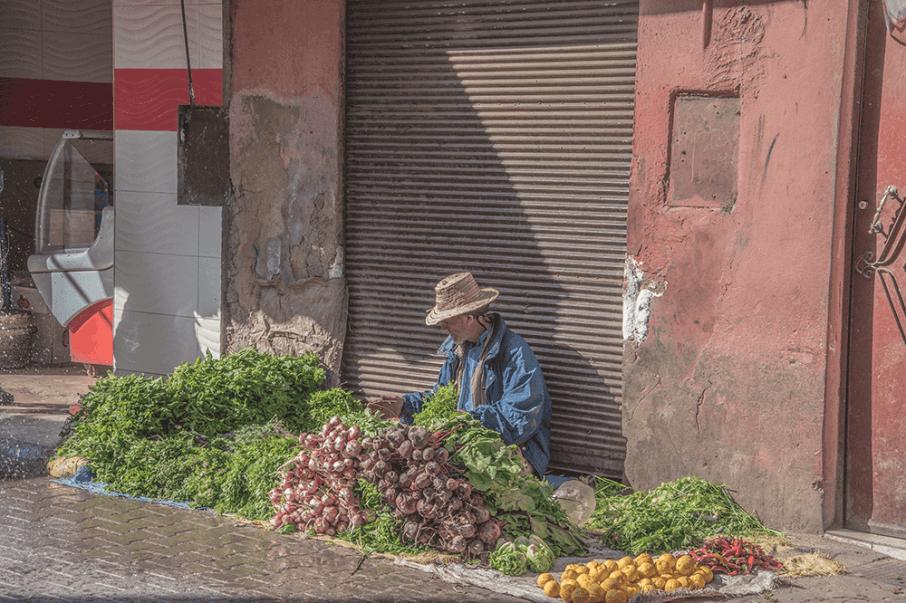 Rou Sidi Boulabada a Marrakech in Marocco