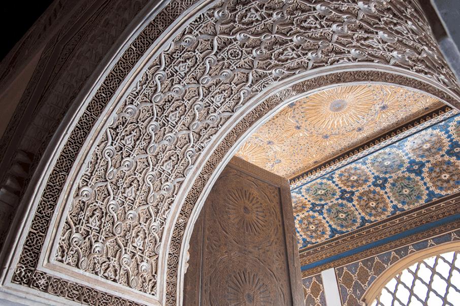 Decorazioni del Palais Bahia