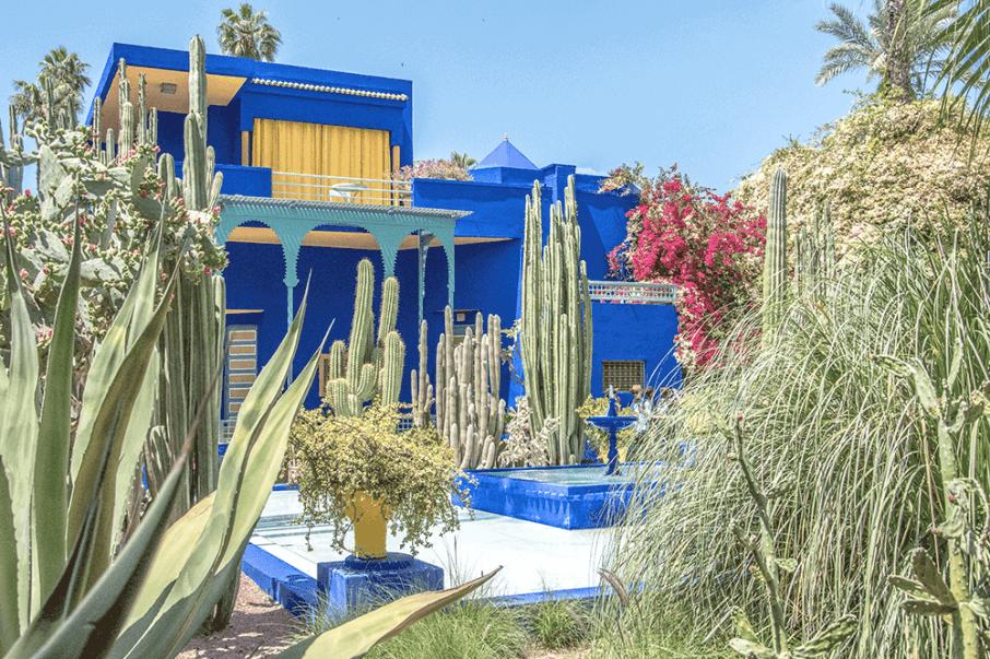 Le Jardin Majorelle a Marrakech