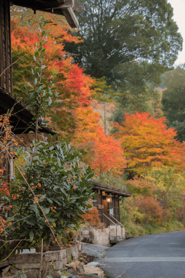Autunno in Giappone - Tsumago