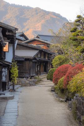 La piccola via di Tsumago
