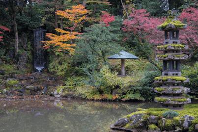 I colori dell'autunno giapponese a Kanazawa