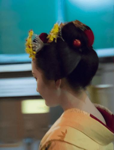 Maiko a Kyoto