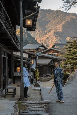 Tsumago, piccolo borgo tradizionale