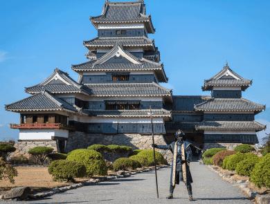 Samuari al Castello di Matsumoto