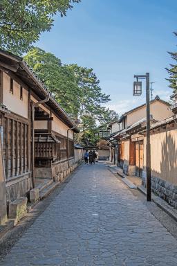Quartiere de Samurai a Kanazawa