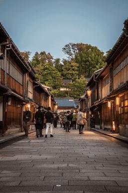 Viaggio in Giappone, Kanazawa