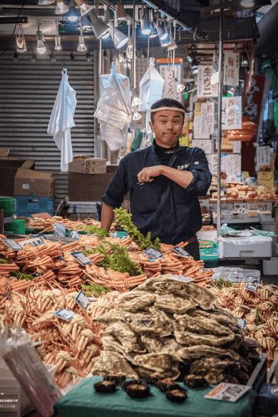 Kanazawa in un giorno, Omicho Market