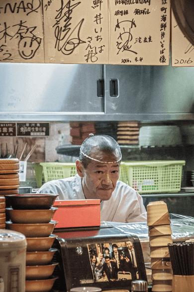Omicho Market a Kanazawa