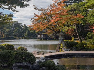I colori dell'autunno a Kanazawa