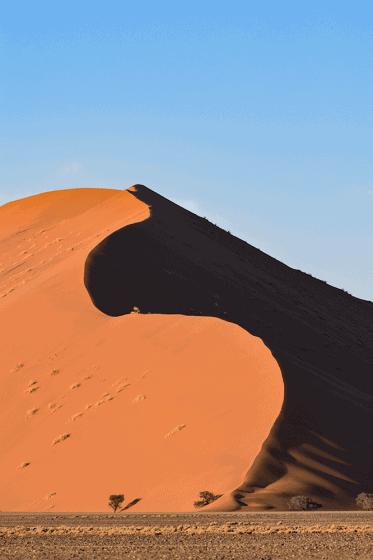 Dune del Deserto del Namib a Sosussvlei