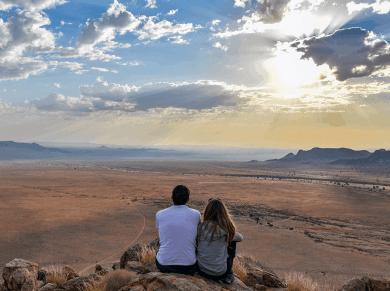 Aus e l'infinito in Namibia